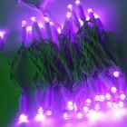 Морозостойкая нить 120 фиолетовых светодиодов