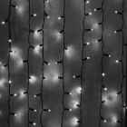 Морозостойкий занавес 1140 белых светодиодов