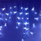 """Морозостойкая гирлянда """"Сосульки"""" 100 синих светодиодов"""