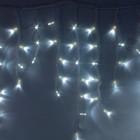 """Морозостойкая гирлянда """"Сосульки"""" 100 белых светодиодов"""