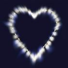 Светильник Сердце MHT26-LDM40-WW-BO