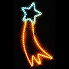 Фигура из дюралайта Падающая звезда I-R-P4CM-C-BY