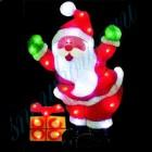 """Световое панно """"Санта-Клаус с подарком"""" со светодиодами PKQE07SW22/1"""