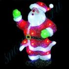 "Световое панно ""Санта-Клаус"" со светодиодами PKQE08SW12"
