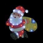 """Световое панно """"Санта-Клаус с мешком"""" со светодиодами PKQE08SW32/1"""