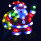 """Световое панно """"Санта-Клаус с мешком"""" со светодиодами PKQE13SW013/1"""