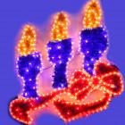 Световое панно Свечи YY100223D