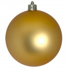 Шарик 10 см золотой матовый