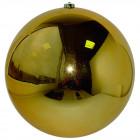 Шарик 25 см золотой глянец