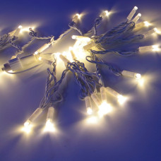 Морозостойкая нить 240 белых светодиодов