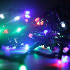 Морозостойкая мигающая нить 120 разноцветных светодиодов