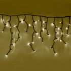 """Морозостойкая гирлянда """"Бахрома"""" 100 светодиодов (тёплый белый/мерцание белым)"""