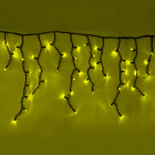 """Морозостойкая гирлянда """"Бахрома"""" 100 желтых светодиодов"""