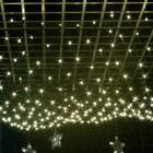 Морозостойкая сетка 320 теплых белых светодиодов