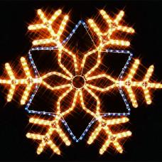 Фигура из дюралайта Снежинка I-R-LDP12SF-C-YB