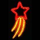 Фигура из дюралайта Падающая звезда I-R-LDP4CM-C-RY