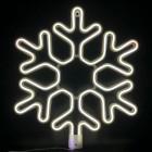 "Фигура из светового шнура неон-лайт ""Снежинка"""