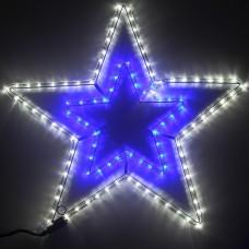 Фигура из дюралайта Звезда RL-108-S-B/W