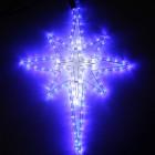 Фигура из дюралайта Рождественская звезда RL-122-BS-B/W