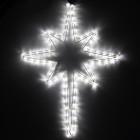 Фигура из дюралайта Рождественская звезда RL-90-BS-W