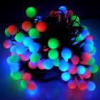 Гирлянда Шарики цветные OLDBL100-RGB-E мигающая