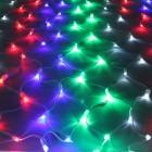 Морозостойкая сетка 320 разноцветных светодиодов