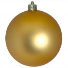 Шарик 12 см золотой матовый