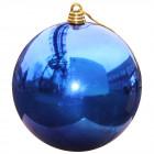 Шарик 40 см синий глянец